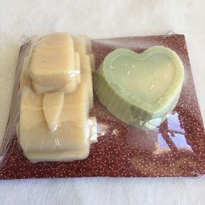 Handmade goat milk soap sampler two pack
